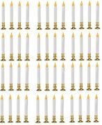 12 Sylvania V24329-88 4 Pack 9 Battery Operated Flickering Led Window Candles