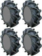 4 High Lifter Outlaw 3 Atv Tires Set 2 Front 44x9.5-24 And 2 Rear 44x9.5-24