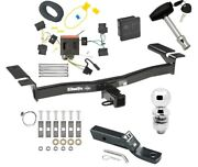 Trailer Tow Hitch For 07-10 Lincoln Mkx Ford Edge Except Sport Wiring Ball Lock