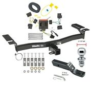 Trailer Hitch For 07-10 Lincoln Mkx Ford Edge Except Sport Wiring And 1-7/8 Ball
