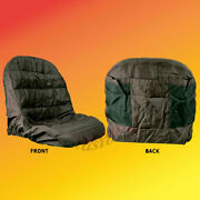 Lawn And Garden Tractor Seat Cover Part 2112679 With Back Pockets