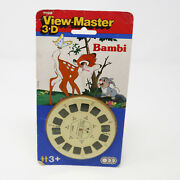 Vintage Tyco Toys Bambi 3d View-master Reels Moc Carded