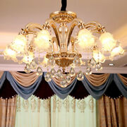 European Luxury Crystal Living Room Ceiling Light Zinc Alloy Led Lamp Wall Lamps