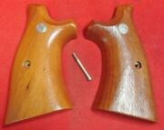 Sandw N Frame Smooth Target Factory Original Goncalo Alves Grips Smith And Wesson 2