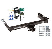 Trailer Tow Hitch For 95-98 Ford Windstar 2 Receiver W/ Wiring Harness Kit