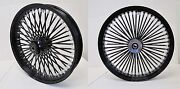 Dna Mammoth Fat 52 Rayons 21x3.5 18x4.25 Noir Roues And Rayons Harley Touring