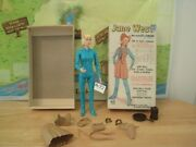 Marx Johnny West Series- Jane West The Movable Cowgirl + Box+aceess.lot A - 72