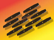 10 Fits Sears Craftsman Edger Blades 9 X 1/2 Fits Tapered Gas Power Edgersusa