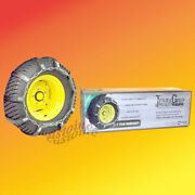 Replace Tractor Chains With Terragrip Traction Belts Snowblowersnow Thrower