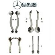 Front Lower And Upper Control Arms With Inner And Outer Tie Rod Ends Genuine Mb