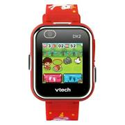 Kidizoom Smartwatch Dx2.0 Red With Unicorns - Vtech Toys Free Shipping