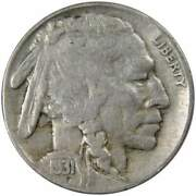 1931 S Indian Head Buffalo Nickel 5 Cent Piece F Fine 5c Us Coin Collectible