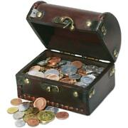 100 Coins From 100 Countries With Treasure Chest
