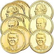 2016 Pds Presidential Dollar 9 Coin Set Bu Uncirculated And Choice Proof 1