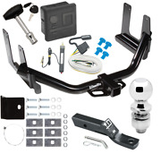 Trailer Tow Hitch For 04-05 Ford F-150 06 Lincoln Mark Lt Wiring 2 Ball And Lock