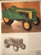 John Deere Orchard And Grove Tractors Green Magazine Includes Models 60 Ao 620