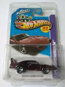 2013 Hot Wheels Fast And Furious And03969 Dodge Charger Daytona - Nm/m In Protector