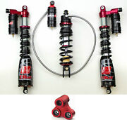 Elka Legacy Plus 3 Front And Rear Shocks + Long Travel Linkage Suspension Yfz450