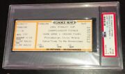 1991 Stanley Cup Game 1 Ticket Pittsburgh Penguins Vs North Stars Psa Ex-mt 6
