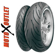 180/55zr17 120/70zr17 Continental Motion Motorcycle Tires Front Rear Set