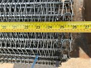 24and039 304 Stainless Industrial Commercial Kitchen Conveyor Chain Belt 25.75 Wide