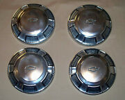 1968 - 1972 Oem Chevy Impala Biscayne L72 427 Dog Dish Hubcap Wheel Cover Clean