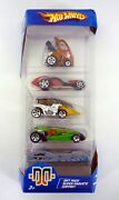 Hot Wheels Autogrfx Gift Pack 5-pack Die-cast Cars Misb Complete 2004
