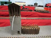 Vintage Scratch Built Sand Dehydrator With Sand Bin Lighted Two Pieces O Gauge