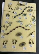 Vintage Cavendish French Recollections Jewellery Collection Necklace Brooch Etc