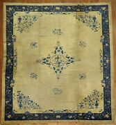 Antique Chinese Peking Rug Size 12and039x14and039
