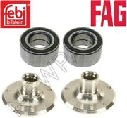 For Bmw E90 E91 E92 E93 Set Of Left And Right Rear Wheel Hubs With Bearings