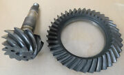 Gm Buick/olds/pontiac 8.2 10 Bolt Ring And Pinion 3.55 Ratio Dated 1-67