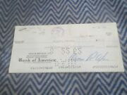1962 Carroll Shelby Enterprises Early Check To Spalding Products For Ignition Sy