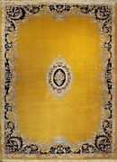 Semi-antique Savonnerie Circa 1960 | 13 X 10 | Home Decor | Area Rugs