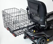 Folding Rear Basket Accessory For Pride Mobility Scooter Sturdy New Design