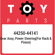 44250-44141 Toyota Gear Assy Power Steeringfor Rack And Pinion 4425044141 New