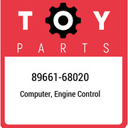 89661-68020 Toyota Computer Engine Control 8966168020 New Genuine Oem Part