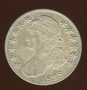 1828 Capped Bust Half Square 2 Small 8 Large Letters O-116 |extra Fine |cp1976