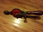 Vintage Miller Falls No. 77a Eggbeater Style Hand Crank Drill- Enclosed Gear Box