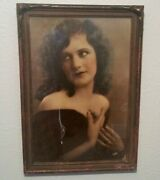 Seattle Silent Movie Star Antique Fred Hartsook Photo Vtg Stage Actress Theater