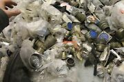 Huge Lot Of Over 300 New Connectors Itt Cannon Ms3106e36-10s Ms3102a36-7s
