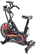 Stamina X Air Resistance Dual Action Arms Upper Body Exercise Bike 15-1175 New