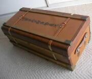 Ww2 Former Japanese Imperial Russo-japanese War Vintage Suitcase Company Officer