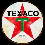 Texaco Star Vintage Advertising Sign Extra Large