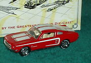Rare Matchbox 1967 Ford Mustang Fastback Red/white 1/43 Please Read