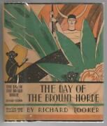 The Day Of The Brown Horde By Richard Tooker First Edition