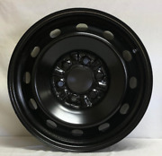 17 Inch 6 On 135 Black Steel Wheel F150 Expedition We7453bn New