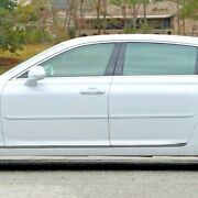 For Genesis G90 2018-19 Painted Body Side Moldings W/ Chrome Inserts Cf-g90-18