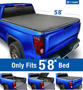 Fits 2019-2021 Silverado Sierra 1500 Newbody 5and0398 Bed Tyger T3 Trifold Bed Cover