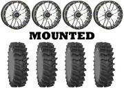 Kit 4 System 3 Xm310r Tires 35x9-20 On System 3 St-3 Machined Wheels Pol